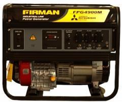 Firman FPG4900M gasoline-driven generator