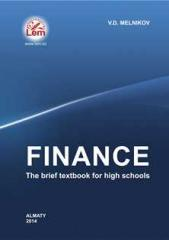 Finance. The brief textbook for high schools. 2014