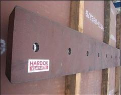 Режущие кромки и ножи HARDOX для погрузчиков