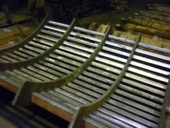 Equipment Hardox for excavators