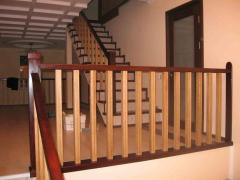 Handrail wooden in assortmen