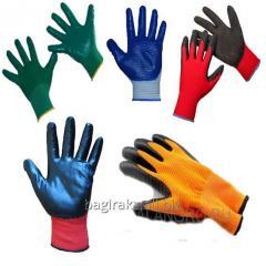 Перчатки нейлоновые «Волна».
