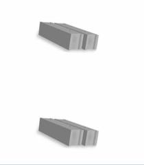 Blocks concrete and reinforced concrete