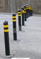 Alarm columns road