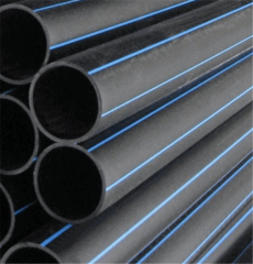 Pipes water of polyethylene diameter are 125-315