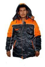 Jacket the warmed Leader