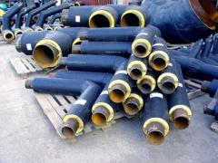Thermal insulation for pipes