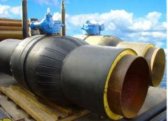 Pipes flexible polymeric heatisolated