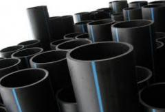 Pipelines pressure head for water and gas supply