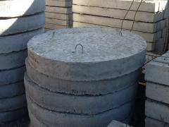 Products reinforced concrete concrete goods