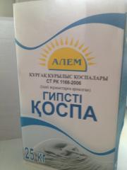 Plaster plaster mix (white)