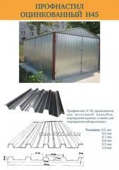 Professional flooring galvanized thickness 0,5 -