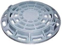 Storm water inlet pig-iron round DK2 (V150)