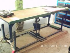 Vibrotables for production of finishing and
