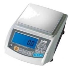 Scales laboratory MWP-1200N of 1200г/0,05 g