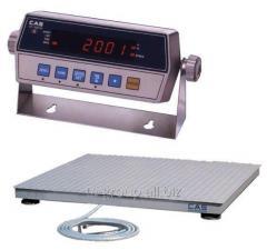 Scales platform Hercules 1000 1,2kh1,5m 1t/0,2kg