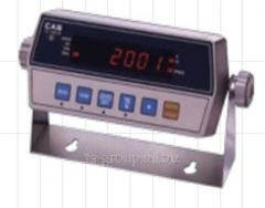 Terminal weight CI 2001 A