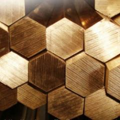 Copper hexagon of 46 M1