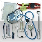 Tools, equipment, dressing