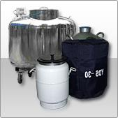 The cryogenic equipment for storage and