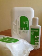 Disinfecting napkins of B15 a basic set 1