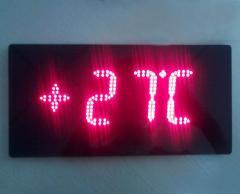 Термометры цифровые электрические  светодиодные