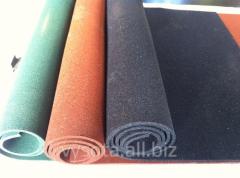 Покрытия полов из полимерных рулонных материалов
