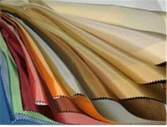 Garment-lining fabrics for curtains