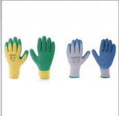Gloves protective from attrition