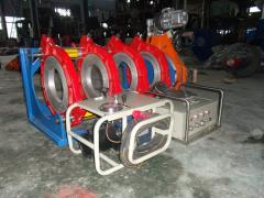 Equipment for welding of plastic pipes