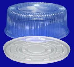 Тортницы пластиковые, тортовые коробки из пластика