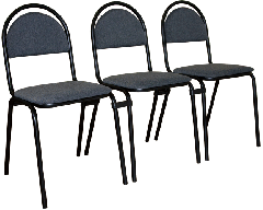 Coupler connecting for chairs (krugl.)