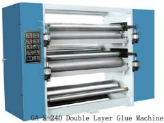 Sector glue, Double Layer Glue Machine GA-S-240, equipment for production of a corrugated cardboard