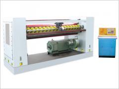 Creaser-slotter machines for corrugation cardboard