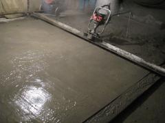 Gemische für den Fußbodenausgleich