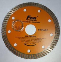 Detachable diamond disk TURBO universal 110