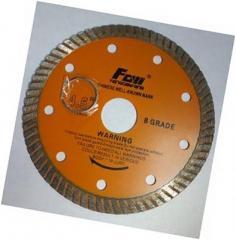 Detachable diamond disk TURBO universal 150