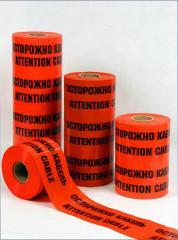 Alarm tape, marker