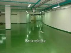 Floors are polymeric bulk