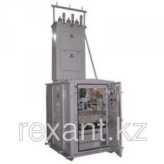 Integral transformer substations
