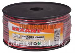 Cable of acoustic 2х0.35 mm2 100 m red-black Rexan