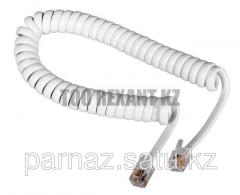 Cords twisted pipe 2M telephone White