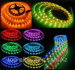 Ленты светодиодные 12v LED SMD 3528,   в...