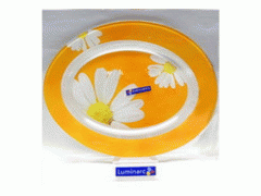 Dish of 350 mm oval of Carine Paquerette Melon