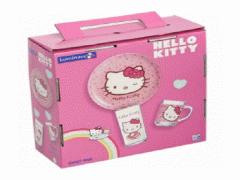 Children's set 3pr Hello Kitty sweet pink