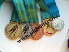 Medals in Astana