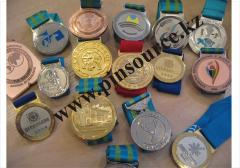 Медали в Казахстане