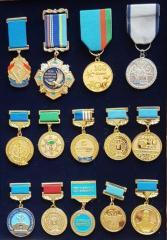 Medals on kolodochka