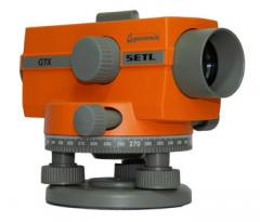 Optical level of SETL GTX 120