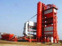 Equipment for production of commodity asphal